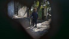 Деревня Желобок Луганской области. Архивное фото