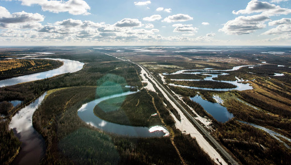 Равнина в Сибири. Архивное фото