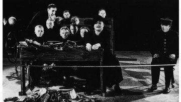 Сцена из спектакля Мертвый класс Тадеуша Кантора