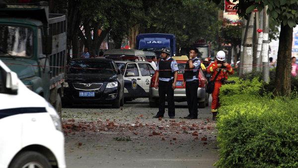 На юге Китая прогремел восемнадцатый взрыв