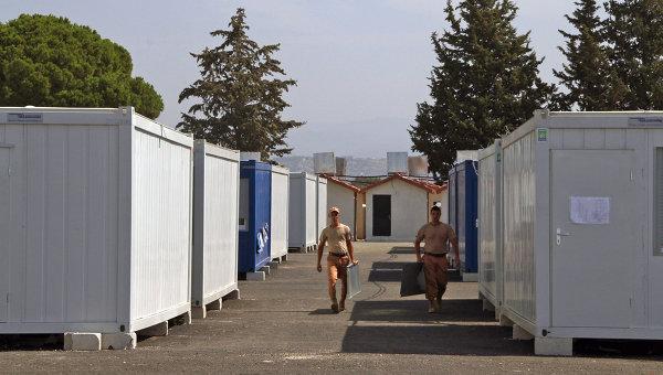 Российские военнослужащие на базе Хмеймим в Сирии. Архивное фото