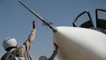 Российская боевая авиагруппа на аэродроме Хмеймим в Сирии. Архивное фото