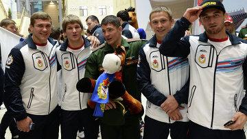 Члены сборной команды Вооруженных Сил России