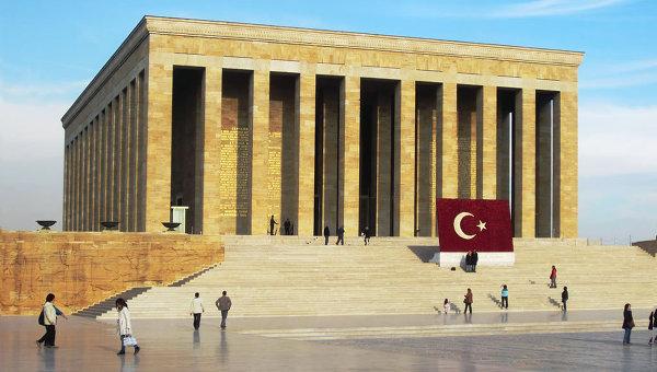 Мавзолей Аныткабир в Анкаре, Турция