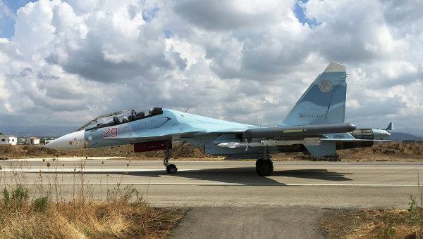 Российская боевая авиация на аэродроме Хмеймим в Сирии. Архивное фото