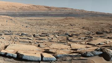 Снимок с Марса. Архивное фото