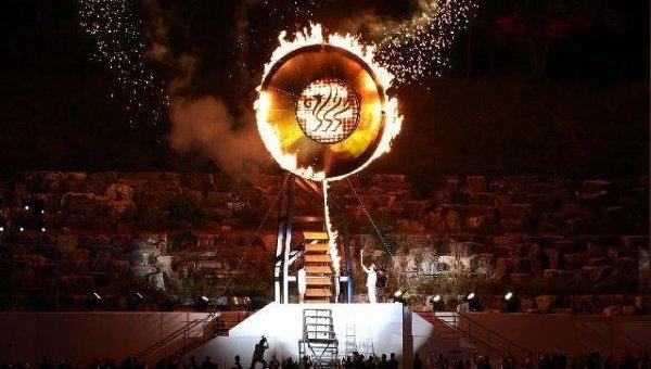 VI Всемирные военные игры в Корее. Церемония открытия. Архивное фото