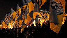 Флаги Азов. Архивное фото