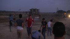 Рогатки и пращи против бульдозера: арабо-израильские столкновения в Газе