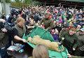 Вскрытие льва в датском зоопарке города Оденс