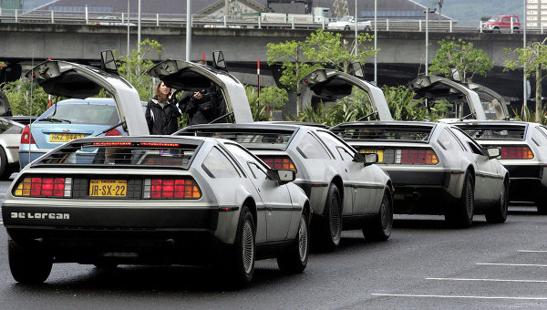 DeLorean. Архивное фото