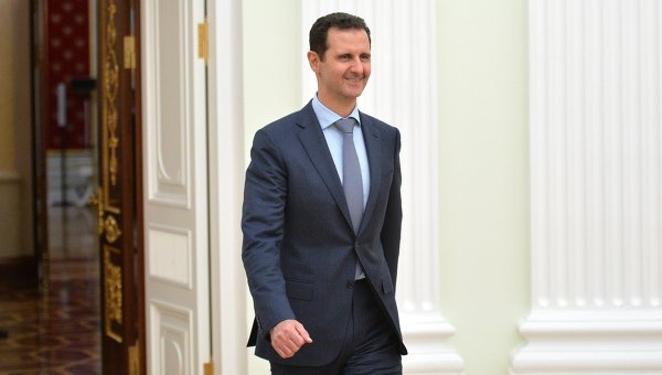 Президент Сирии Башар Асад. Архивное фото.
