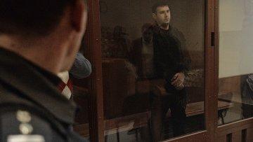 Шота Элизбарашвили, охранник Амирана Георгадзе, подозреваемого в убийстве чиновников, а также местного жителя в Красногорске. Архивное фото