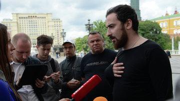 Лидер православного движения Божья воля Дмитрий Цорионов. Архивное фото