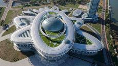 Архитектура КНДР. Научно-технический комплекс в Пхеньяне