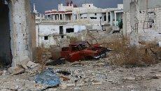 Город Мурек освобожденный сирийской армией после интенсивных артударов и уличных боев