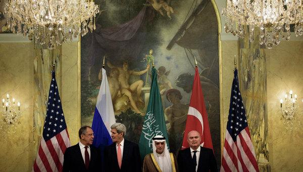 Россия представила в Вене список групп сирийской оппозиции, открытых для работы