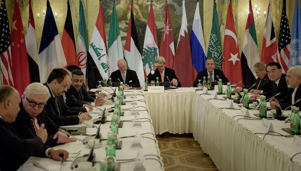 Встреча по Сирии в Вене