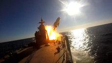 Адмирал Григорович серией ракетных ударов уничтожил учебные цели на Балтике