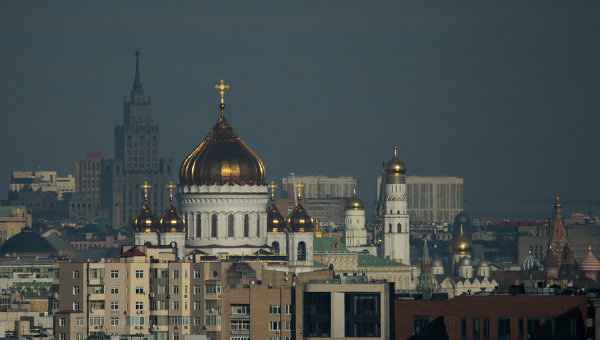 Вид на храм. Архивное фото