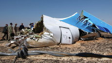 На месте крушения самолета Airbus A321 авиакомпании Когалымавиа на Синае. Архивное фото