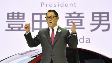 Президент компании Toyota Акио Тоёда. Архивное фото