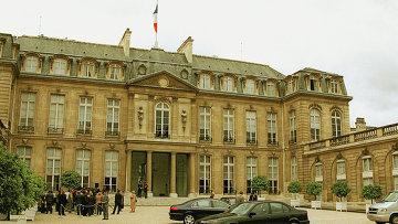 Елисейский дворец в Париже. Архивное фото