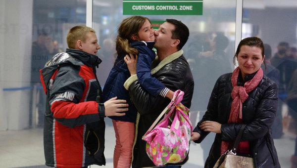 Туристы из Египта вернулись в Россию. Архивное фото