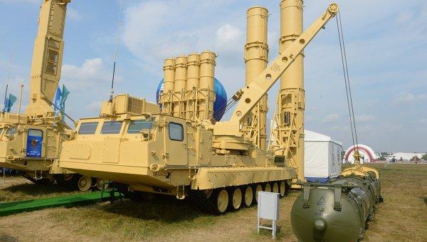 Пускозаряжающая установка ПЗУ 9А84МЭ из состава ЗРС Антей-2500. Архивное фото