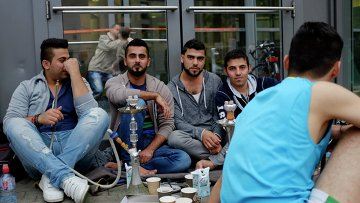 Ситуация с мигрантами . Архивное фото