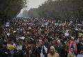 Тысячи человек вышли на антиисламистские демонстрации в столице Афганистана после убийства боевиками семерых хазарейцев