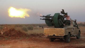 Сирийские боевики. Архивное фото
