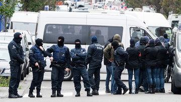 Бельгийская полиция. Ноябрь 2015