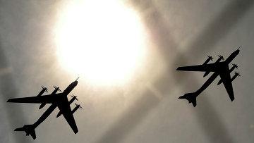 Пролет самолетов ТУ-95