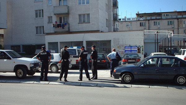 Полиция на улицах Боснии и Герцеговины. Архивное фото