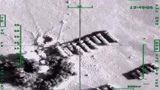 Кадры боевого вылета  ВВС РФ и второго массированного авиаудара по ИГ в Сирии