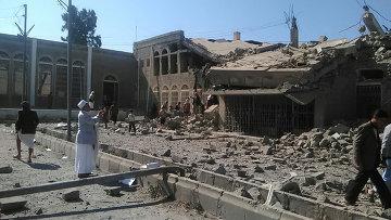 Ситуация в столице Йемена Сане. Архивное фото.