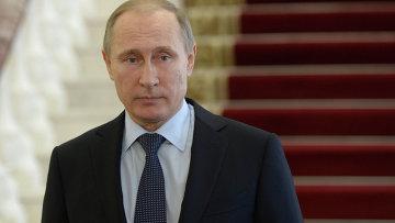 Рабочая поездка президента РФ В.Путина в Свердловскую область