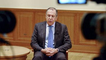 Министр иностранных дел Российской Федерации Сергей Лавров