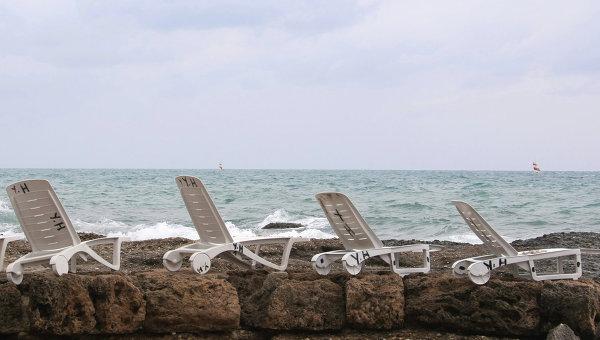 Пляж Сиде, Турция. Архивное фото