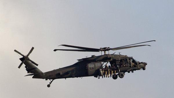 Вертолет совершил жесткую посадку вСША, пострадали пятеро военных