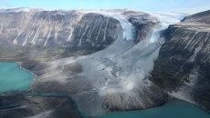 Ледники Гренландии, сформировавшиеся в эпоху викингов