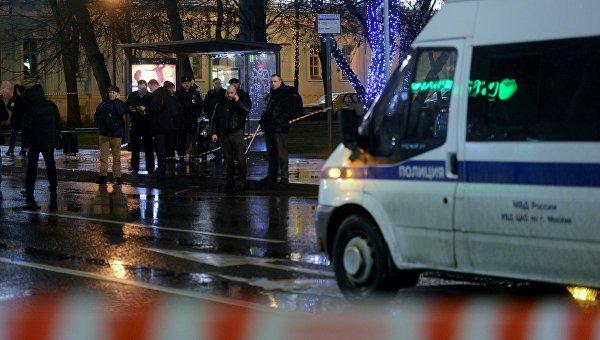 На улице Покровка в центре Москвы произошел взрыв. Архивное фото