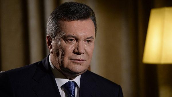 Бывший президент Украины Виктор Янукович