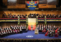 Церемония награждения Нобелевскими премиями в Стокгольме