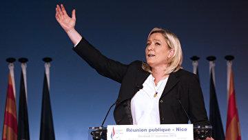 Французский лидер ультраправой партии Марин Ле Пен. Архивное фото