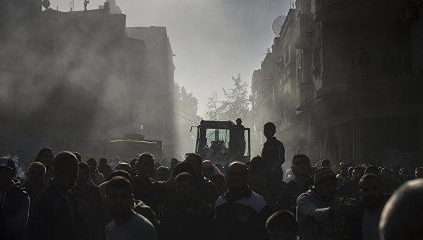 Ситуация в Хомсе. Архивное фото
