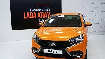 Автомобиль новой модели АвтоВАЗа LADA X-Ray. Архивное фото