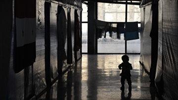 Лагерь беженцев. Архивное фото
