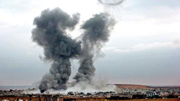 Ситуация в Сирии после авиаударов военно-воздушных сил США. Архивное фото
